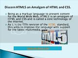 Css4me brings out HTML5 an Amalgam of HTML and CSS Images